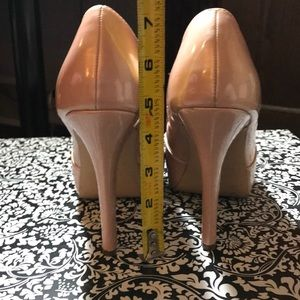 """Forever 21 Shoes - Pink bow tie 5"""" heel"""